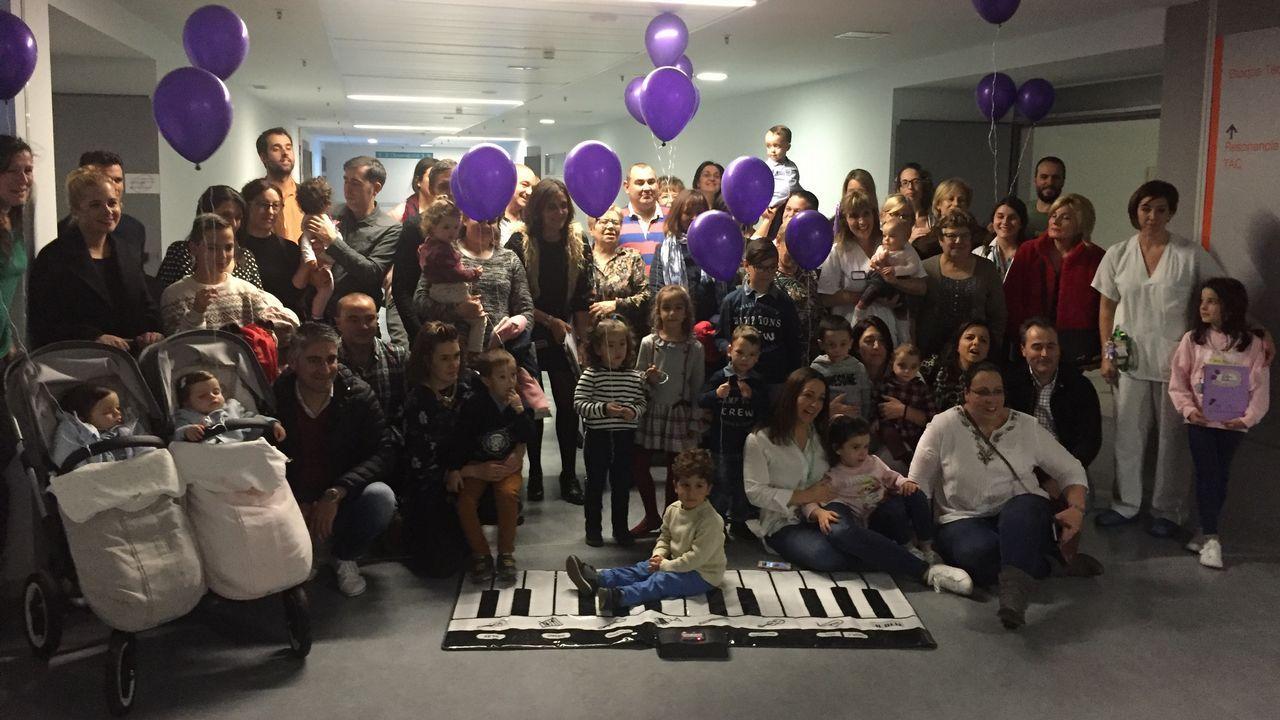 Primer encuentro de familias con niños prematuros en el HULA