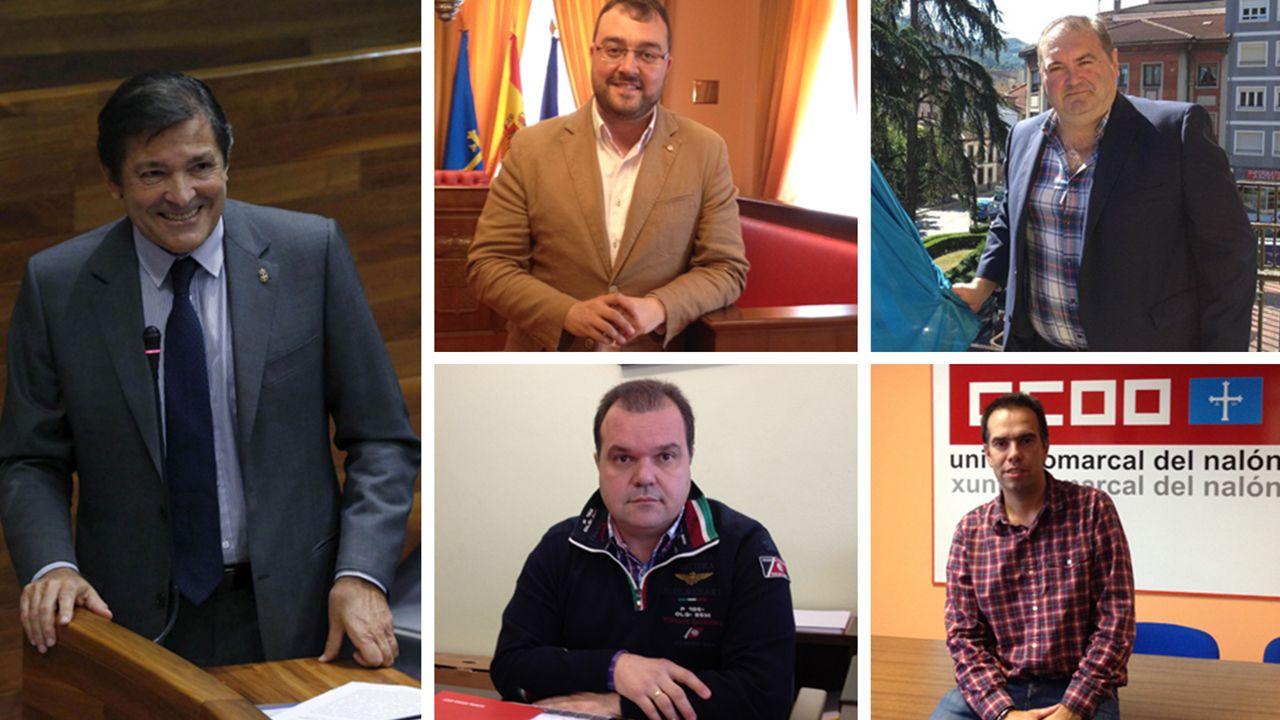 Lideres políticos sindicales de las cuencas