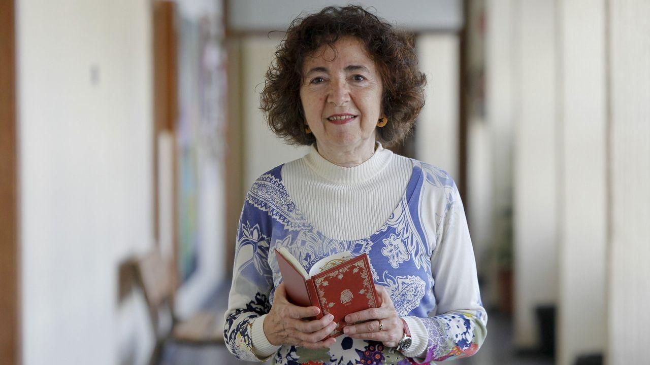 Marilar Ailxandre participa en el documental junto a otras escritoras y varias actrices