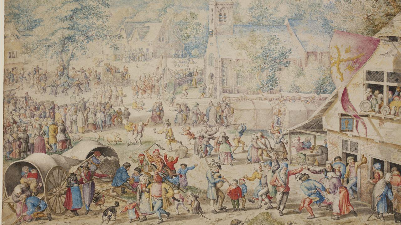 Así eranlos macrobotellones del siglo XVI