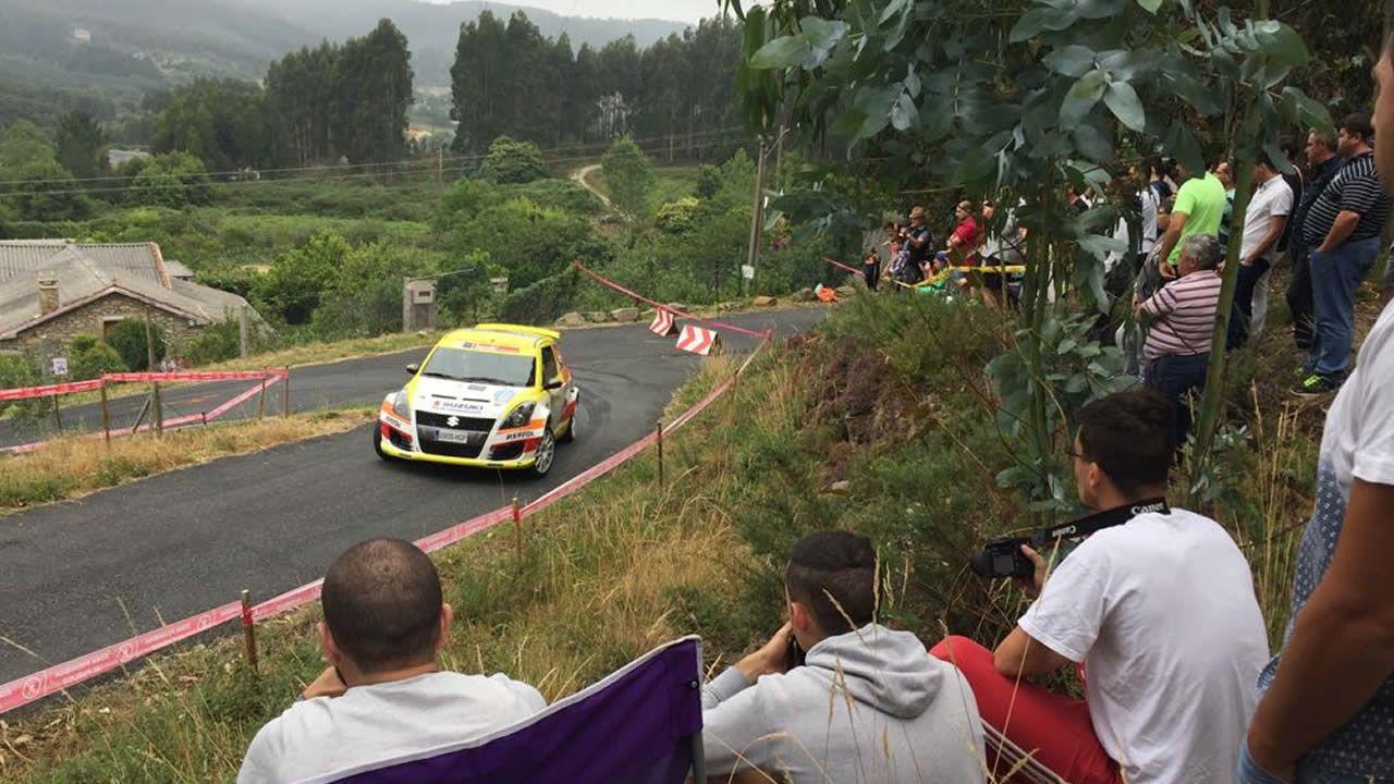 Shakedown multitudinario para abrir el Rali de Ferrol