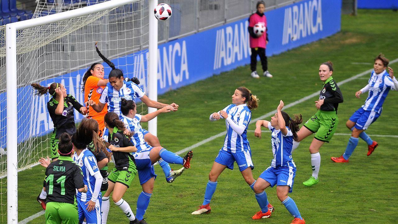 Las mejores imágenes del Deportivo Femenino - Victoria