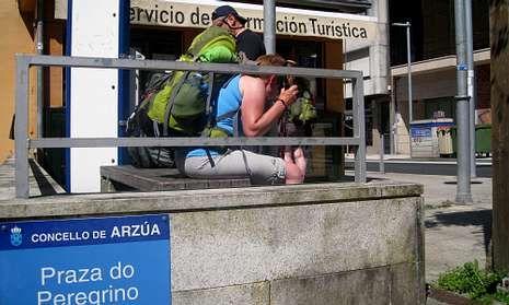 La oficina de turismo arzuana atiende sobre todo consultas de visitantes extranjeros.