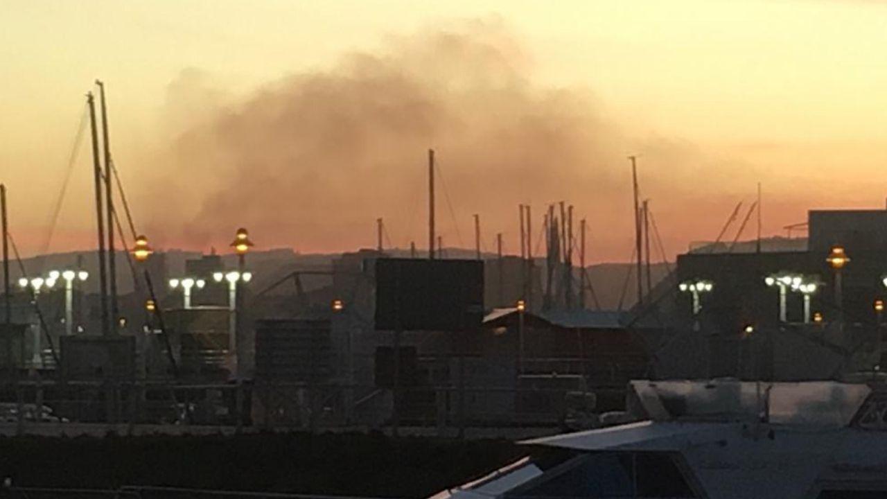 Contaminación en Gijón