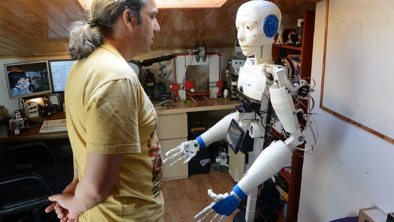 Un «robot ayudante» para tetrapléjicos.