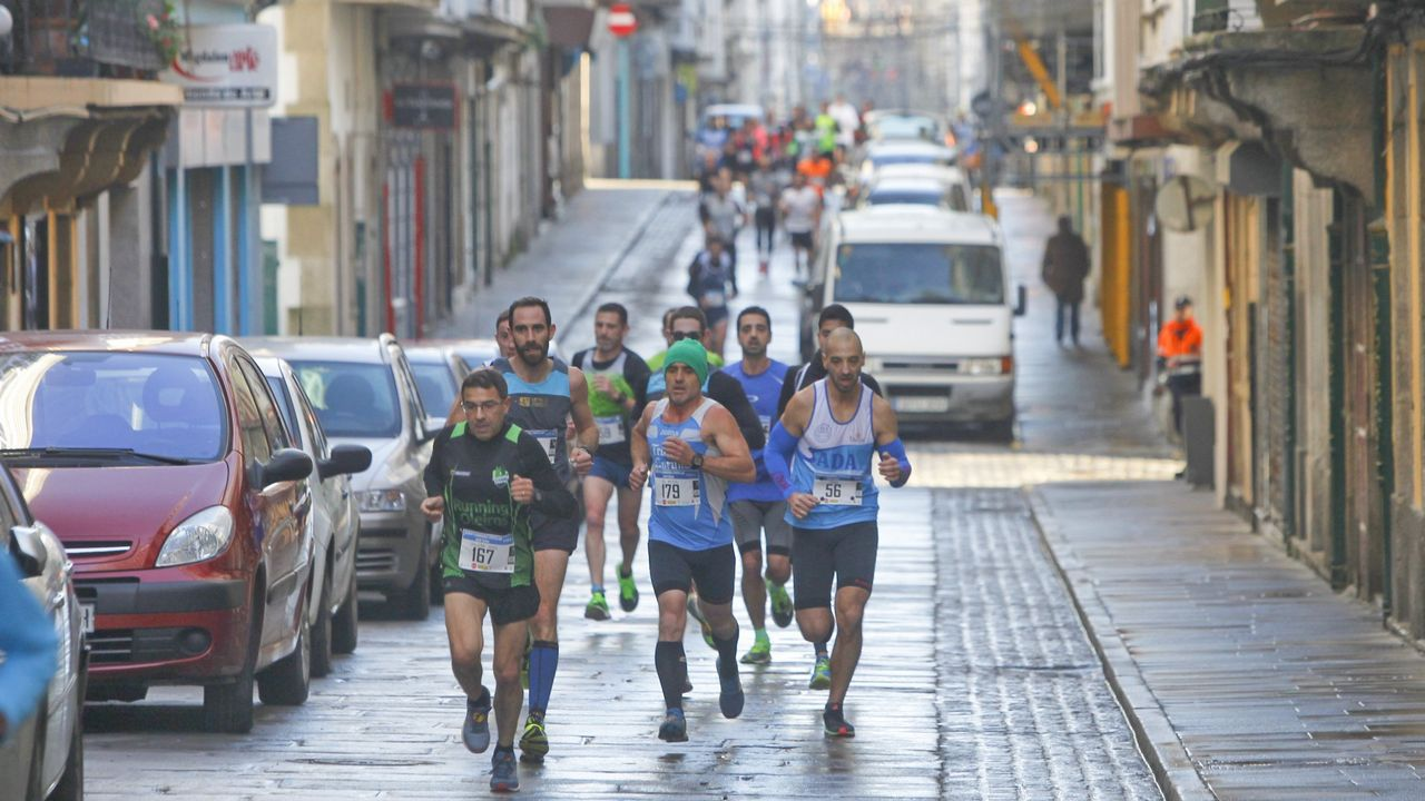 Corredores de la Media Maratón de Gijón.Corredores de la Media Maratón de Gijón
