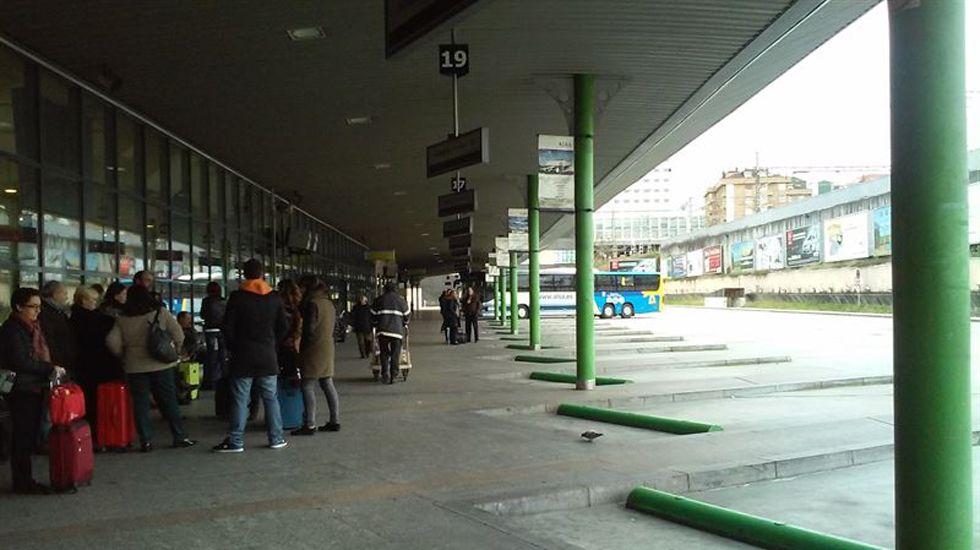 Estación de Autobuses de Oviedo.Estación de Autobuses de Oviedo