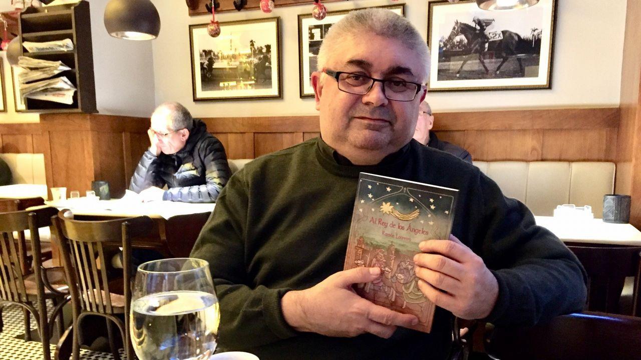Ánxeles Penas levou ao castelán os poemas da antoloxía confeccionada por Maximino Cacheiro no ano 2006
