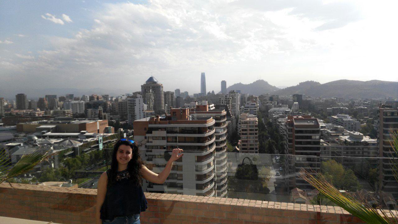 Arantxa Arroyo de Miguel en Chile