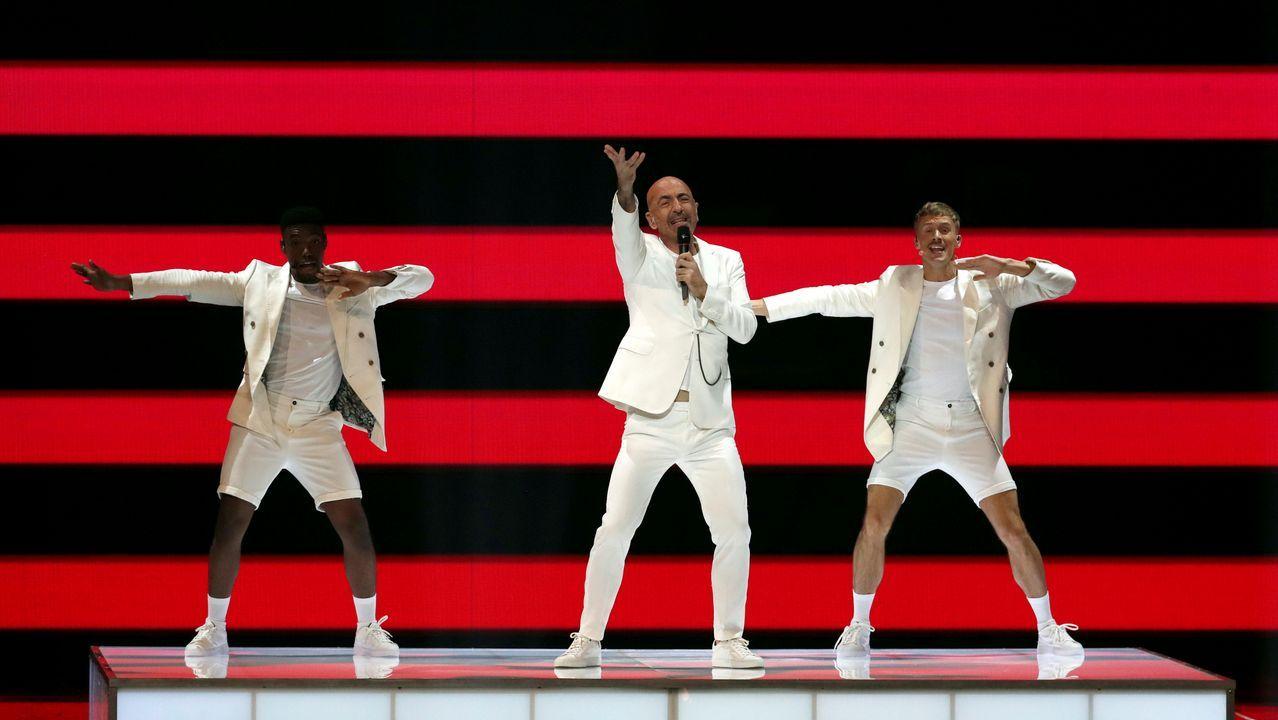 Serhat da la sorpresa con «Say Na Na Na» y se cuela en la final de Eurovisión 2019