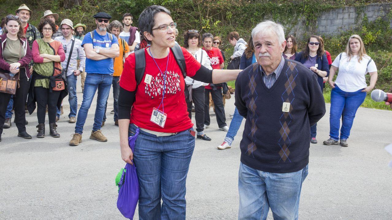 Asífue la segunda Marcha pola Memoria en As Encrobas, ¡mira las imágenes!