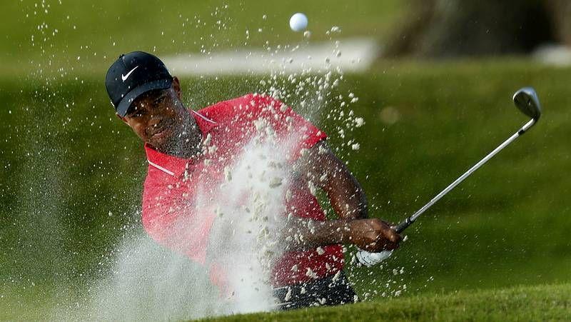 Sergio García y Tiger Woods, en el reciente Players