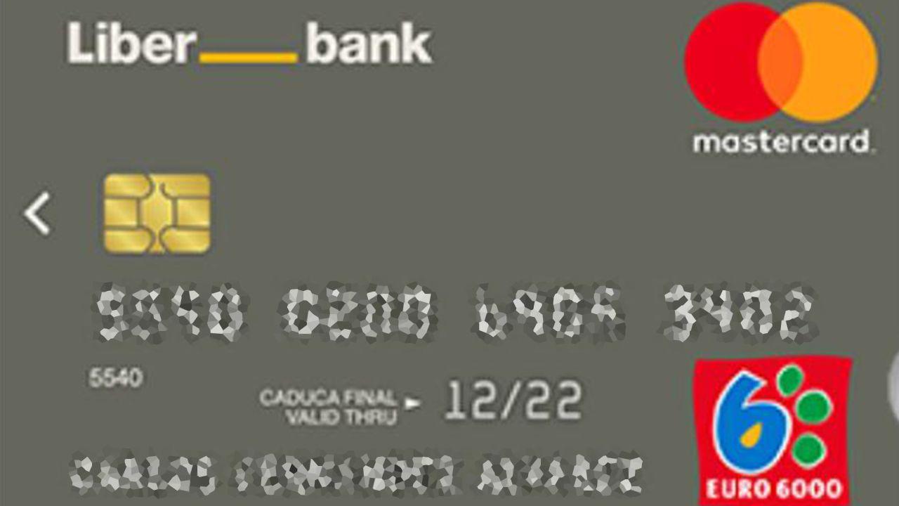 Dinero.Tarjeta de Liberbank