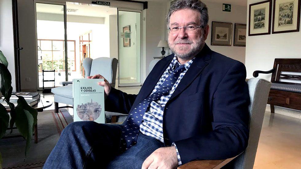 El neurólogo asturiano Juan Fueyo publica su primer libro «Exilios y odiseas. La historia secreta de Severo Ochoa».El neurólogo asturiano Juan Fueyo publica su primer libro «Exilios y odiseas. La historia secreta de Severo Ochoa»