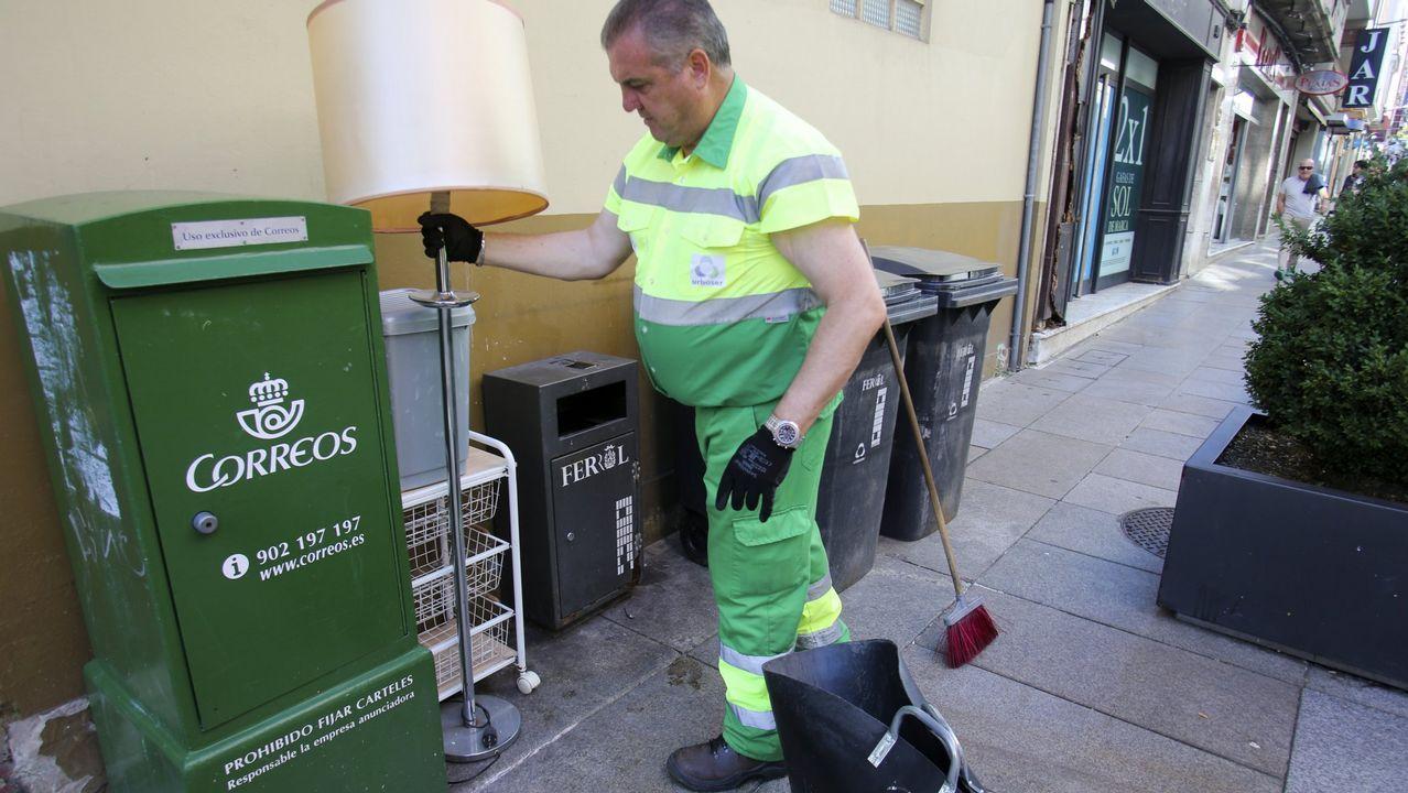 Movilización del naval de Ferrol en demanda de carga de trabajo