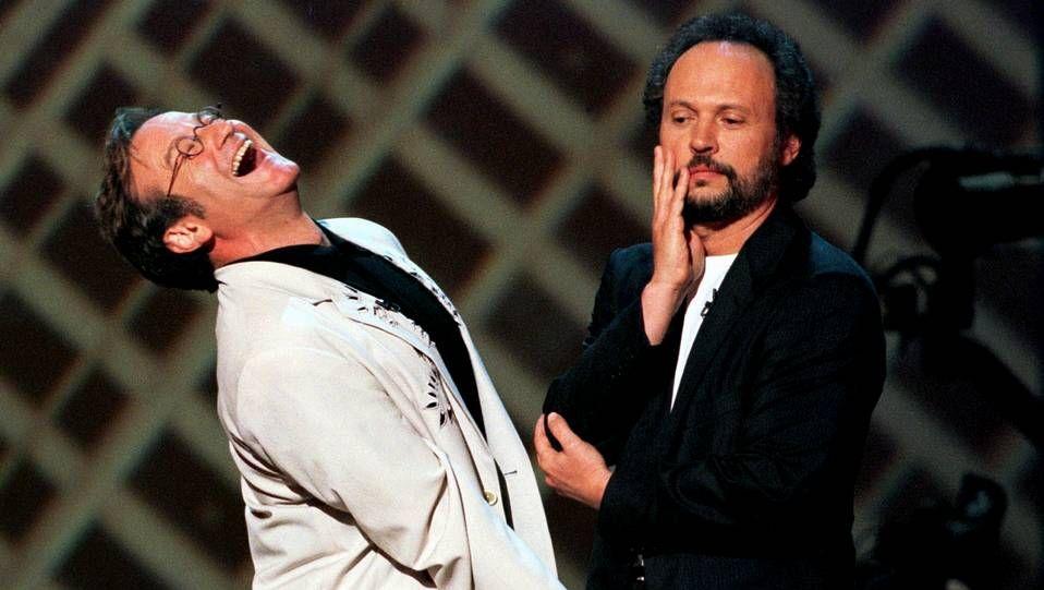 emmys.Robin Williams y Billi Crystal en una imagen de archivo