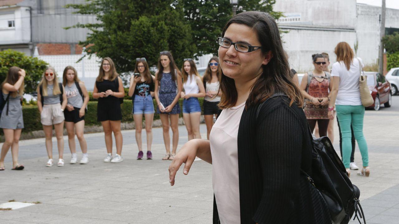 .Laura Mariño, portavoz del BNG, ha presentado las alegaciones