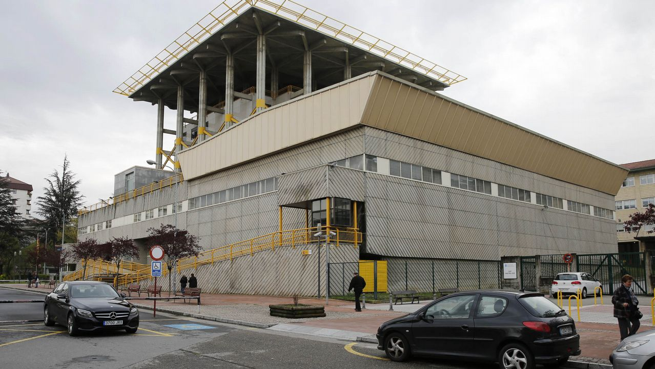 Centro penitenciario de Villabona.Un grafiti en una calle