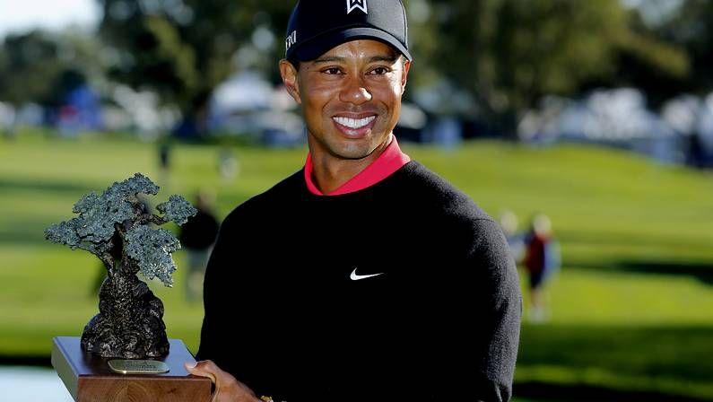 Lindsay Vonn y Tiger Woods