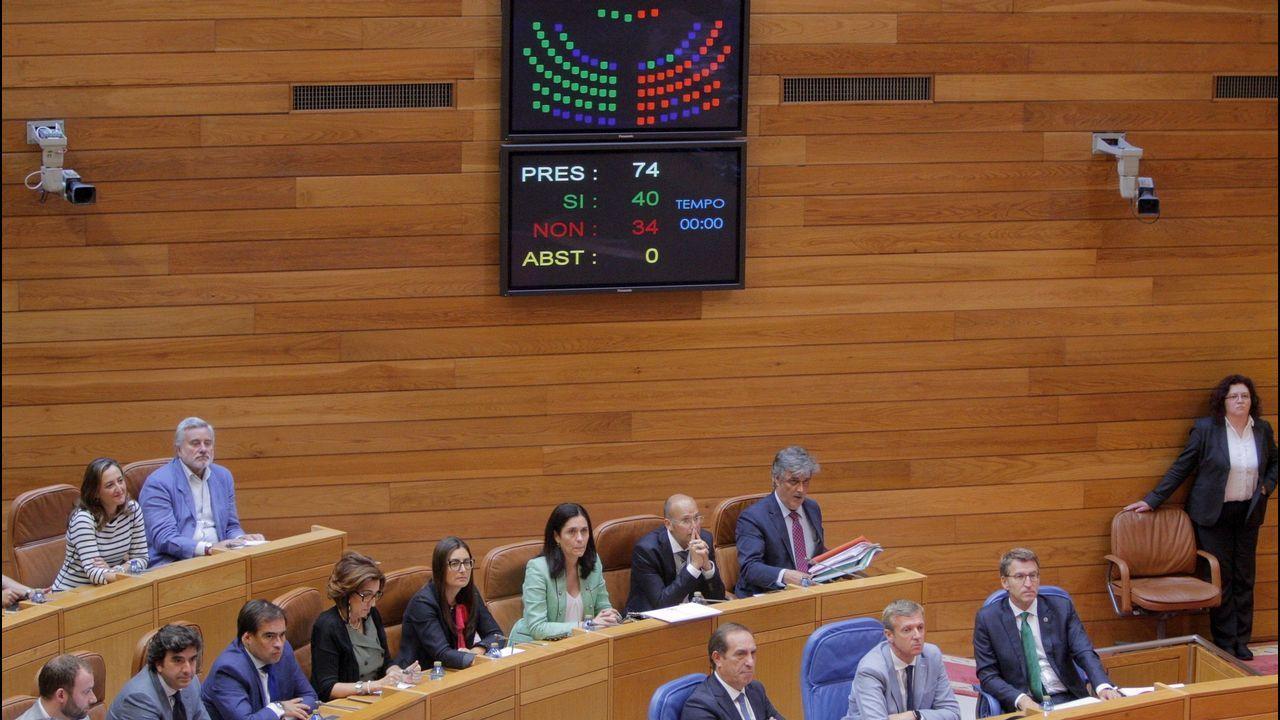 Cristina Cifuentes: «No temo una moción de censura».Pedro de Rueda
