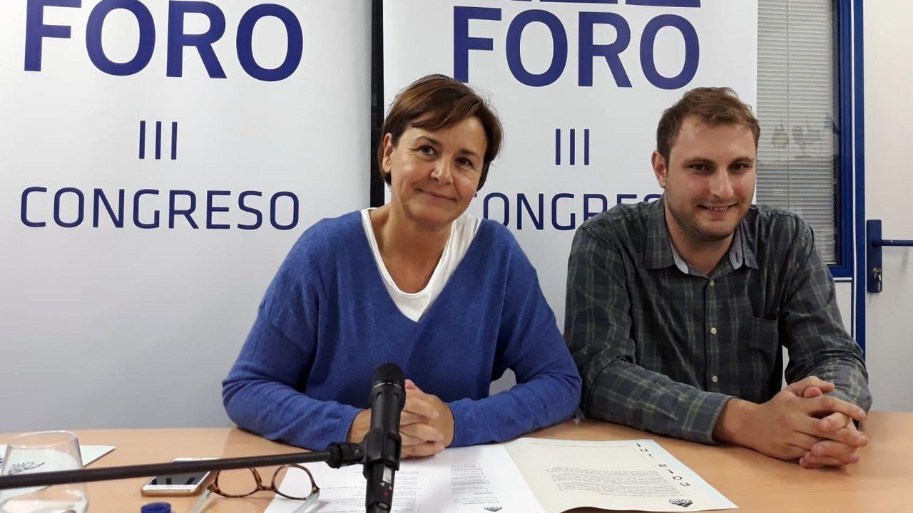 Carmen Moriyón y Adrián Pumares