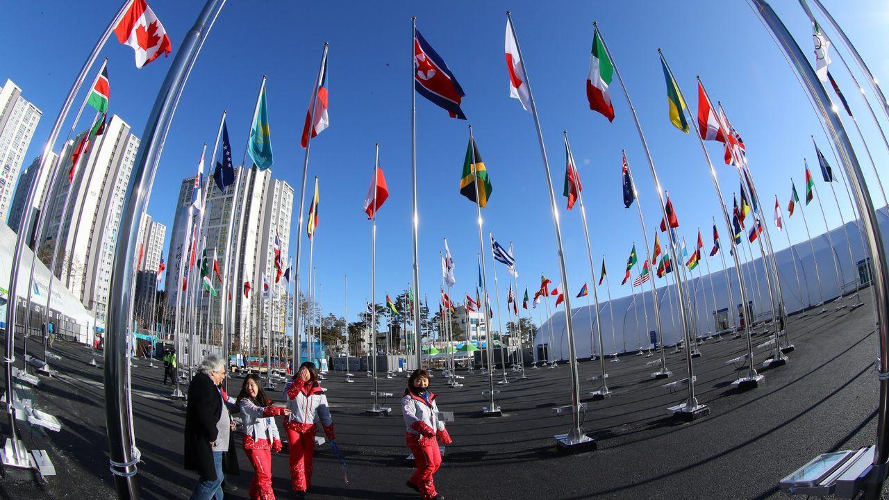 Ceremonia inauguración Juegos Olímpicos de Invierno 2018.Bitcoin