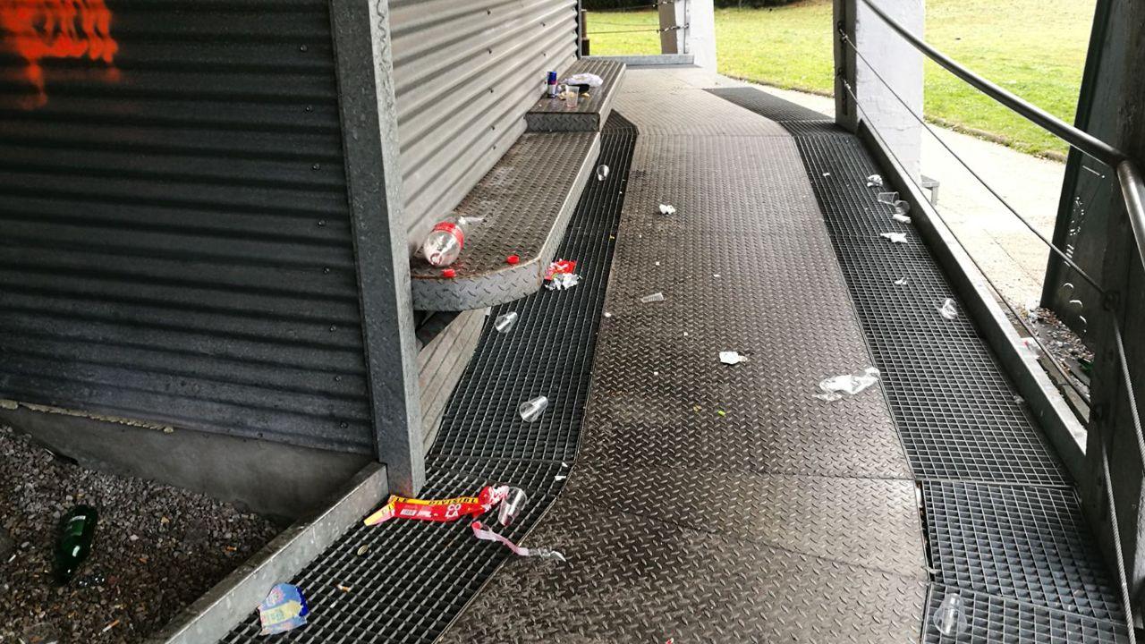 Una veintena de goteras se acumulan en las instalaciones del MUSI