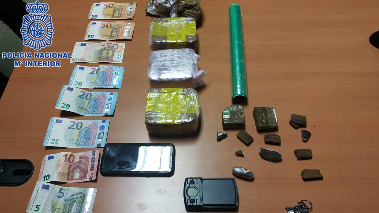 Imagen de archivo de una incautación de droga en el Campo de Gibraltar