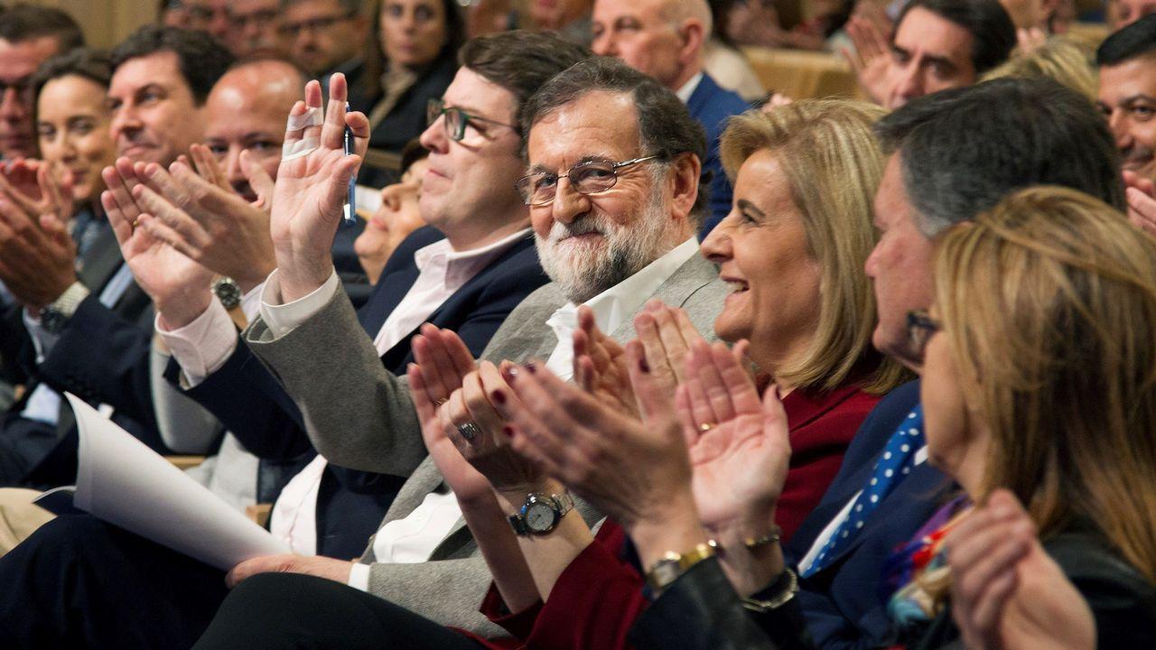 Rajoy dice que era «obligada» la dimisión de Cifuentes.Mariví Monteserín