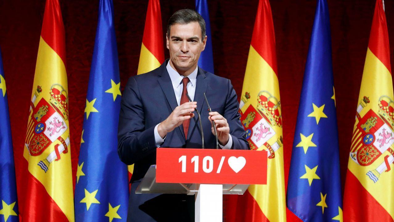 Sánchez promete una ley para todo tipo de familias y un ingreso mínimo vital.Pablo Iglesias, a la salida de la Audiencia Nacional tras personarse como perjudicado en el caso Villarejo