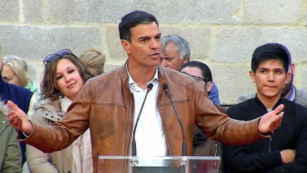 Pedro Sánchez: «¡Manda carallo con la abstención del PSOE!»
