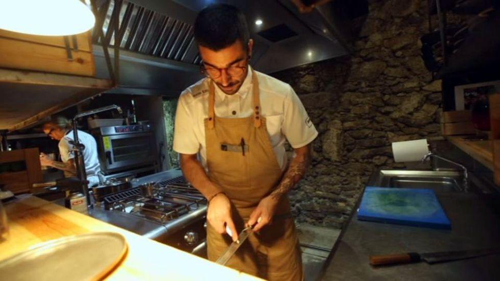 Adrián Felípez, el chef que trabaja sin nevera.