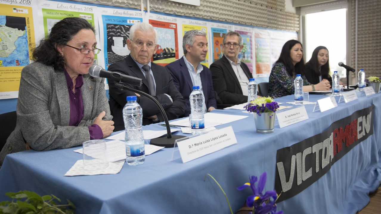 O Xesús San Luís Romero recibiu o premio das Letras Galegas: ¡mira as imaxes!.