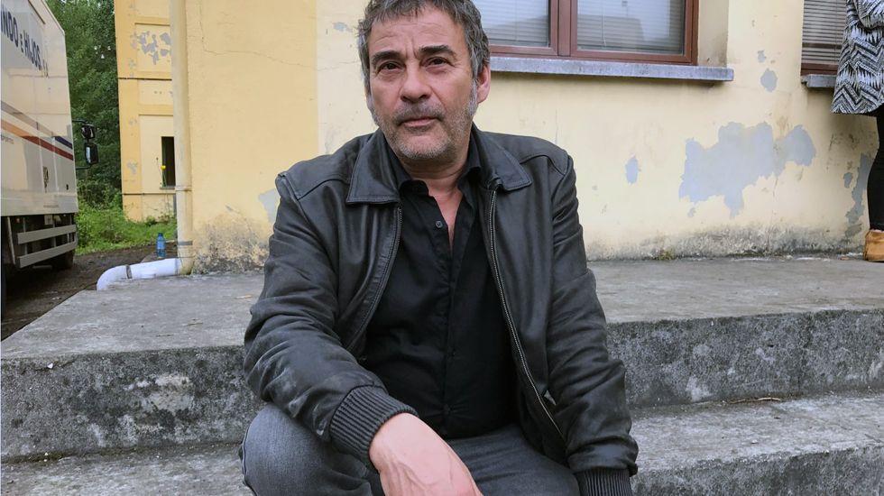 El actor Eduard Fernández.El actor Eduard Fernández