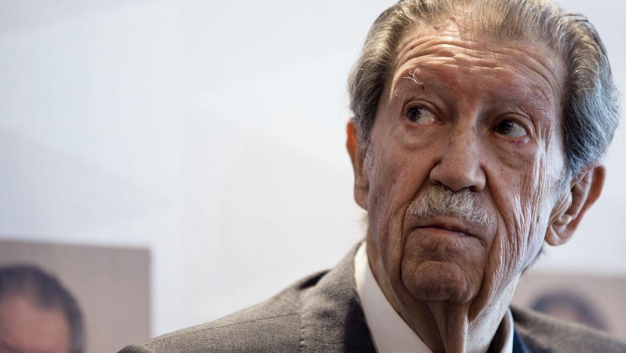 Muere Joaquín López Menéndez, el alcalde que luchó por la capitalidad.Manuel Alcántara, fotografiado en Málaga en el año 2015