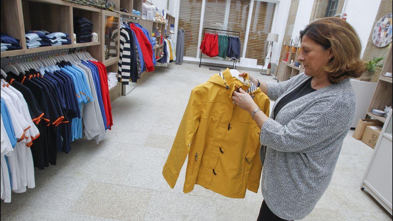 El campus de la Universidad Rey Juan Carlos.En la tienda se pueden comprar recuerdos del Museo Naval y de Ferrol, pero también mucha ropa y decoración de inspiración marinera