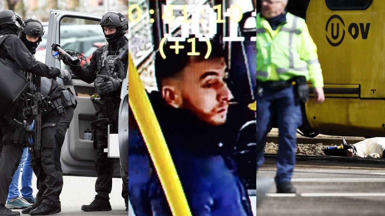 En el centro, el hombre al que buscan las autoridades holandesas