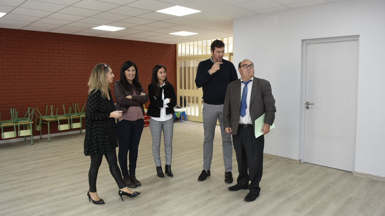 Así será el nuevo edificio del Gaiás.La asistencia y socialización en el instituto, en la foto un centro de Madrid, está muy bien valorada según  la encuesta  2018 Jóvenes e Inclusión