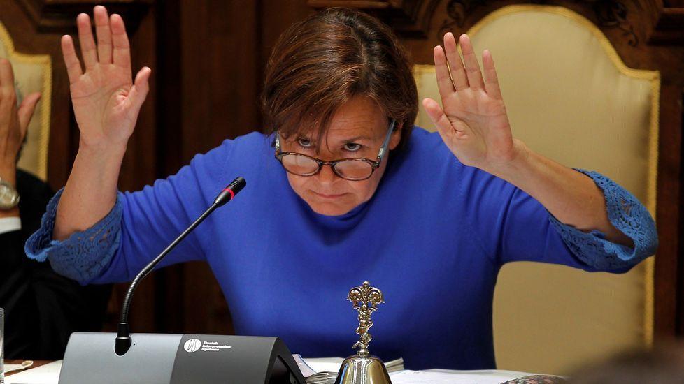 .La alcaldesa de Gijón, Carmen Moriyón
