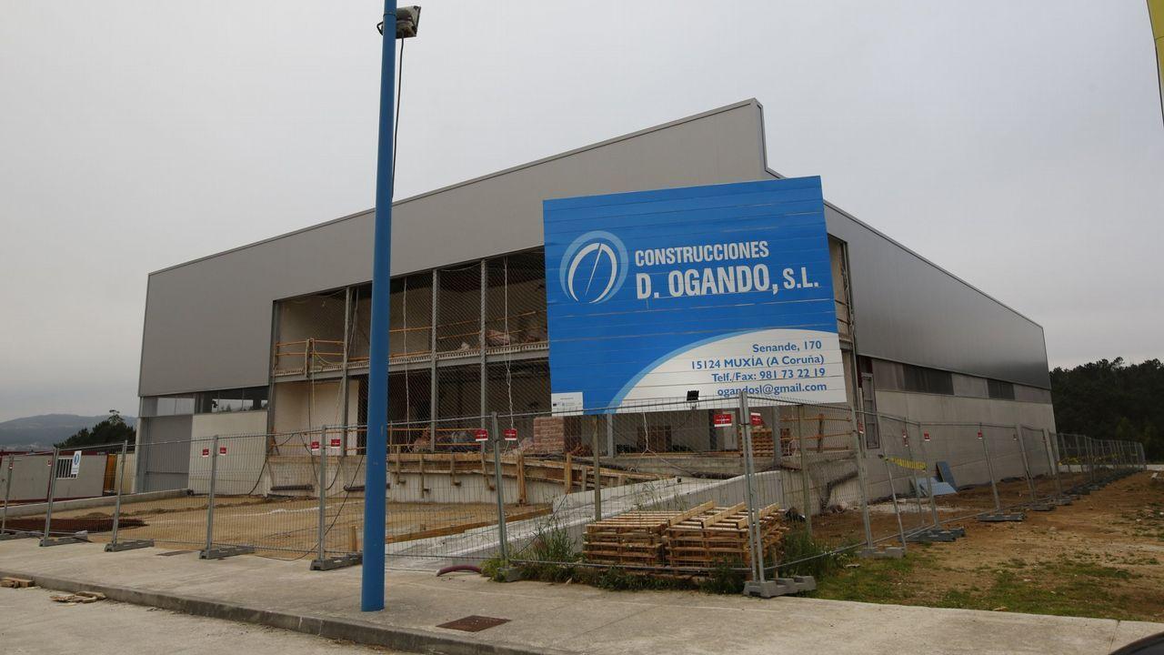 .Proceso de construcción de la primera nave de Gerca el pasado mes de mayo