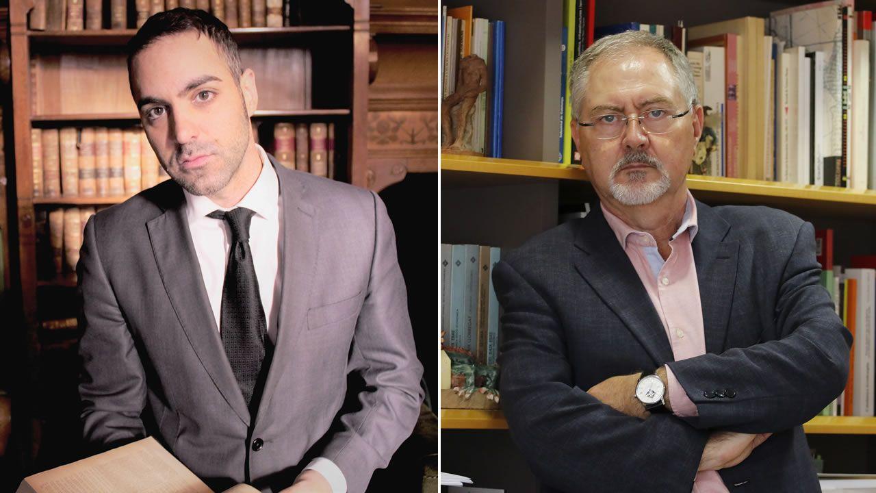 .José Manuel del Río y Juan Cal