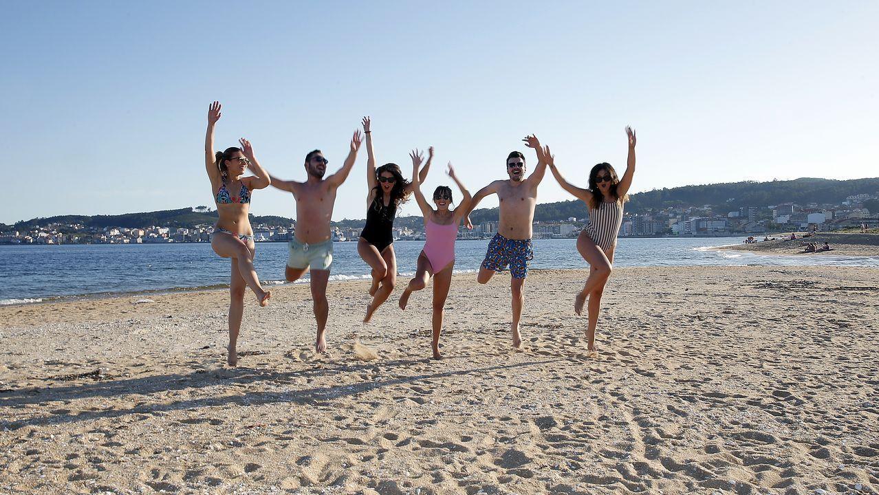 .Playa de Coroso, Ribeira