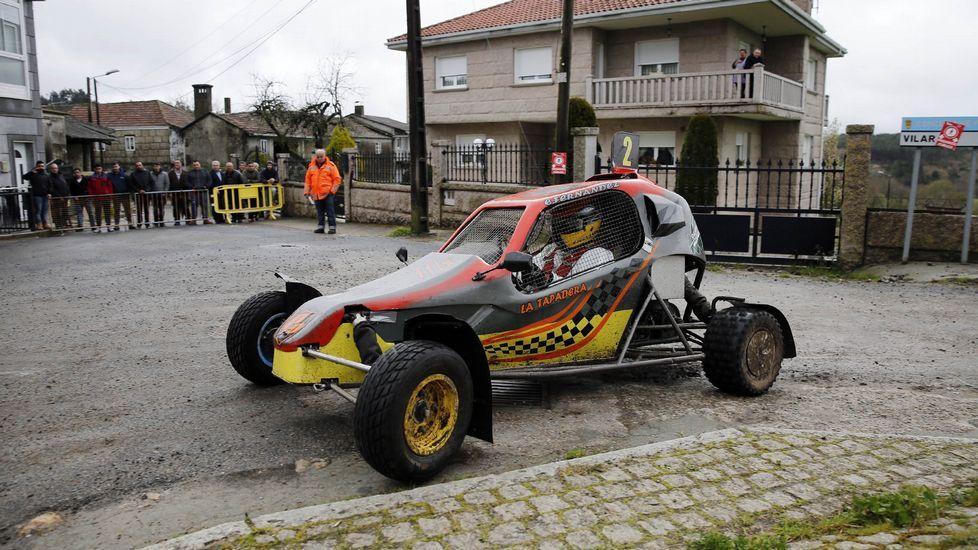 Las mejores imágenes del ralimix gallego en Piñor.