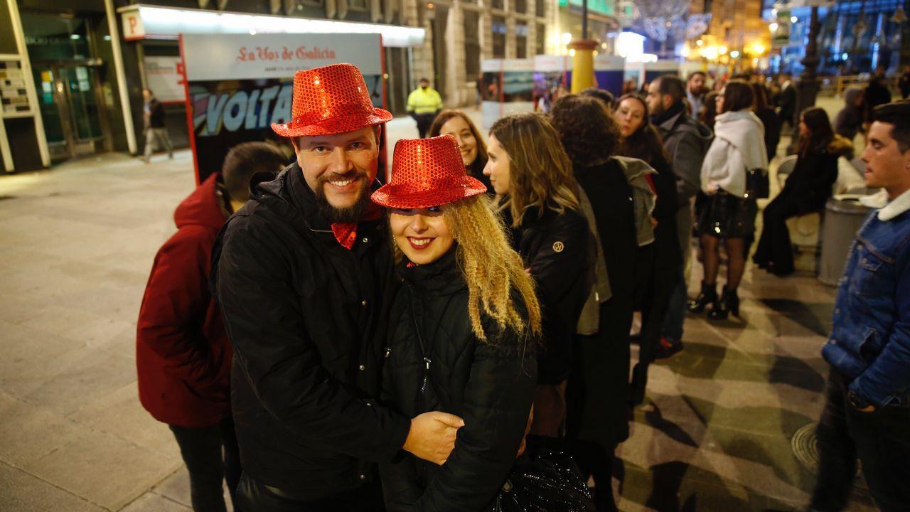 Fiestas de Fin de año. A Coruña