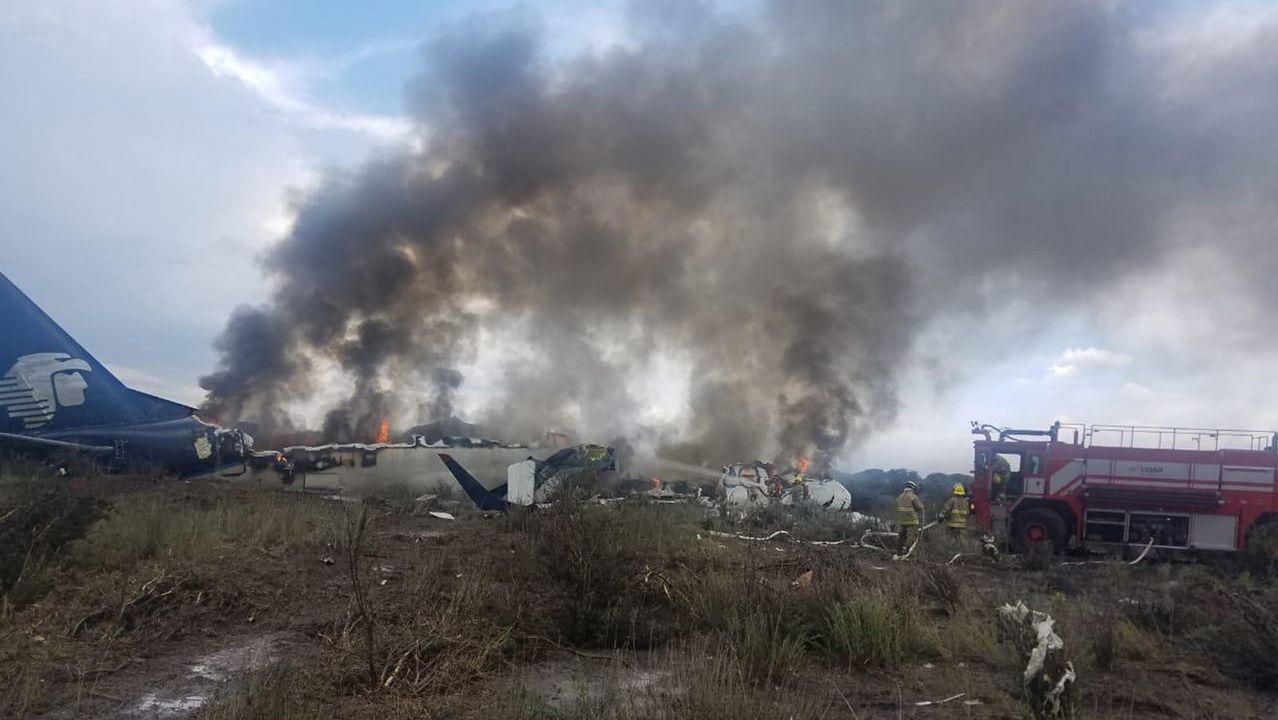 Accidente aéreo en Indonesia.José Manuel Pulgar, superviviente asturiano en el accidente aéreo de México