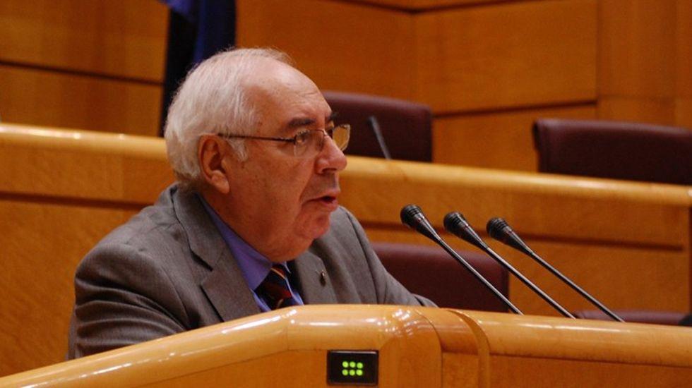 Areces, en el Senado