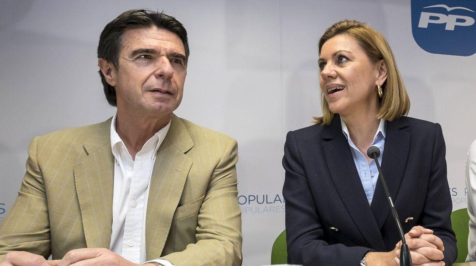 Cospedal: «La renuncia de Soria no tiene que ver con ningún tipo de corrupción».Victoria Rosell en una imagen de archivo