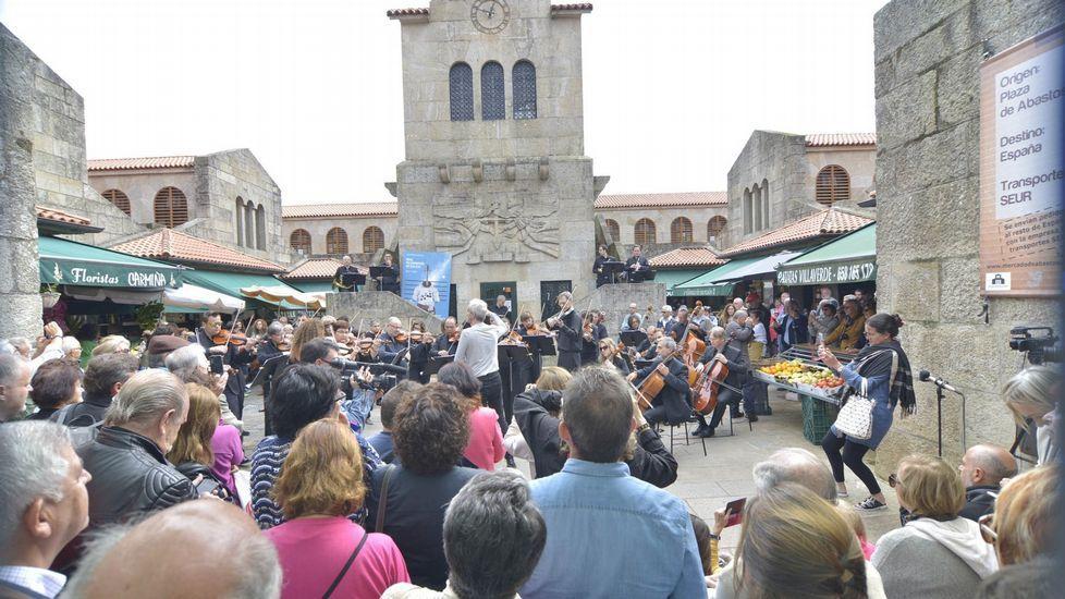 El coro de la Fundación Princesa, de Asturias a Colombia.Junta General de Accionistas de Duro Felguera