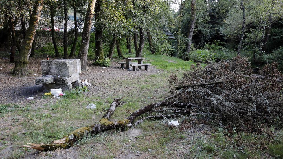 Daños producidos en Becerreá (Lugo) por un terremoto de magnitud 4,6 el 24 de diciembre de 1995