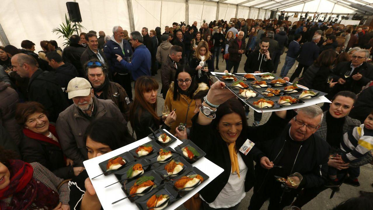 Festa do Ourizo de Mar en San Cibrao